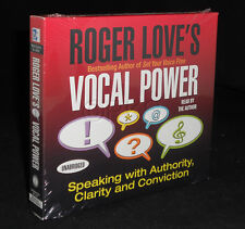 New 6 CD VOCAL POWER by Roger Love (Voice Training ) Nightingale Conant