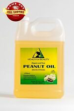 PEANUT OIL REFINED ORGANIC CARRIER COLD PRESSED 100% PURE 7 LB