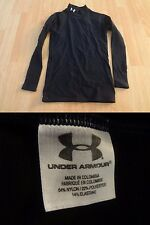 Youth Boys Under Armour L Navy Blue Compression Shirt L/S