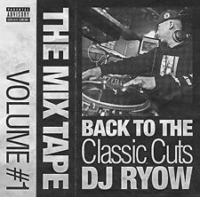 DJ RYOW-THE MIX TAPE VOLUME #1 - BACK TO THE CLASSIC CUTS--JAPAN CD F30