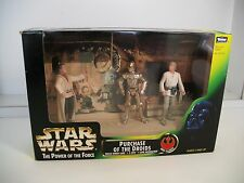 Star Wars Power of the Force POTF PURCHASE OF THE DROIDS w/Lars , Luke & C-3PO