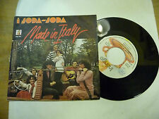 "I SODA SODA""MADE IN ITALY-disco 45 giri INTINGO Italy 1977"" PROG.ITALY"