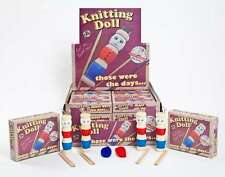 WOODEN FRENCH KNITTING DOLL KIT  - Child Craft Hobby Knit Dolly