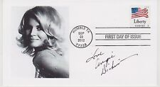 SIGNED ANGIE DICKINSON FDC AUTOGRAPHED FIRST DAY COVER POLICE WOMAN
