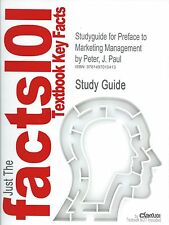 Just the Facts 101 ~ STUDY GUIDE for PREFACE to MARKETING MANAGEMENT by CRAM 101