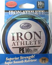 LUCKY CRAFT Iron Athlete PE Braided Line - 10lb 77yds