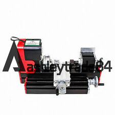 New Mini Metal Motorized Lathe Machine DIY Tool For Hobby Model Making