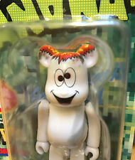 Be@rbrick Bearbrick 100 Pam Toy Mañana Banana Get High Today White Medicom New