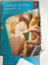 Adobe Photoshop Elements 13 - Retail Boxed (PC/Mac) Please Read Description