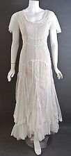 Nataya Wedding Dresses Vintage Inspired White/ivory Titanic Formal Dress NWT M