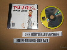 CD Jazz Sonny Criss - This Is Criss (8 Song) ZYX MUSIC / PRESTIGE