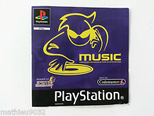 Jaquette Avant/Front Cover Music Sony Playstation 1 PAL FR