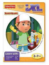 FISHER PRICE iXL LEARNING SYSTEM SOFTWARE HANDY MANNY R9707  *NEW*