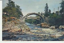 Vintage unused Arthur Dixon Postcard Carrbridge Inverness-shire, 3605
