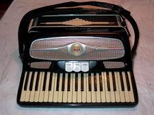 Davino Black Accordion & Case Made in Italy