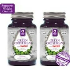2 Bottles Genesis Today 100% Pure Green Coffee Extract w/ Svetol 60 Veg Caps
