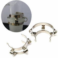2pcs 24# Stainless Steel Clip Keck Clamp 24/29 24/40 Glass Ground Joint M1908 QL