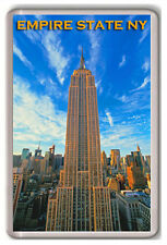 THE EMPIRE STATE BUILDING NEW YORK FRIDGE MAGNET SOUVENIR IMÁN NEVERA