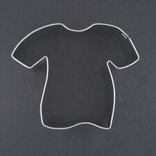 "TSHIRT SPORTS FOOTBALL SOCCER BASEBALL JERSEY T SHIRT 2.5"" METAL COOKIE CUTTER"