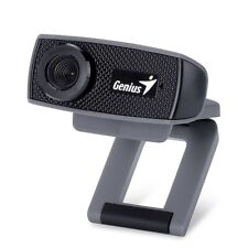 GENIUS FACECAM 1000X WEBCAM MIC SKYPE VIDEO CHAT AIM MSN 720p 3x ZOOM LAPTOP PC