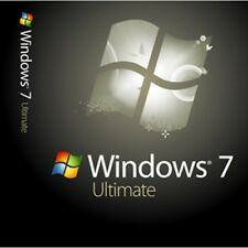 Microsoft windows 7 ultimate 64bit + clé d'activation + 1 boot usb