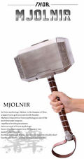 HOT Marvel's Avengers 2 Thor Hammer 1:1 Adult Replica Prop Mjolnir Model Cosplay