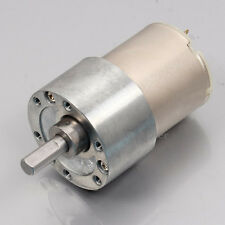 DC High Torque 12V 200RPM  DC Motor Metal Geared Motor Electric Motors