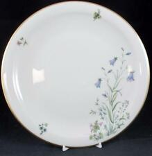 "Franconia MEADOW FLOWERS Dinner Plate Design ""D"" LIGHT SCRATCHES"