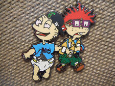 "1 ""Tommy & Chuckie"" Pin FREE SHIPPING (Heady Grateful Dead Weed Dab Hat Pins)"
