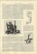 1921 Whittaker Brickmaking Machine Whalley Concrete Mixer West