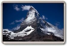 FRIDGE MAGNET - MATTERHORN - Large Jumbo - Switzerland Alps Dark Sky