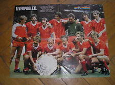 LIVERPOOL F.C. WIN CHARITY SHIELD 1982 POSTER MONDIAL FRENCH MAG