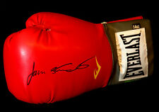 New James Toney Signed 14oz Red Everlast  Boxing Glove