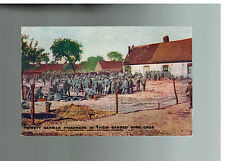 Mint WW 1 German Prisoners of WAR POW in British Cages Daily Mail Postcard