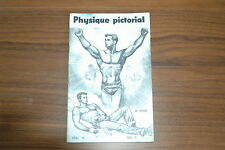 PHYSIQUE PICTORIAL VOL 10 #2 60s VINTAGE MAGAZINE BOYS ART BEEFCAKE GAY NUDE