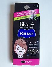 Biore Nose Strips Deep Cleansing Removes Blackheads Pore Pack Refreshing 10 Pack