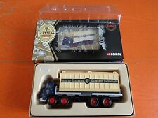 CORGI GUINNESS LIMITED EDITION LEYLAND OCTOPUS WITH CONTAINER 1:50 NUOVO 2000