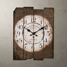 Retro Vintage Style Classic Roman Digital Round French Country Style Wall Clocks