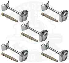 5 x Worktop Wood Handrail Rail Connector Zip Connecting Bolt 81mm & Hex Key