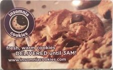 Insomnia Cookies Warm Fresh Delivered Until 3am! Gift Card Collectible