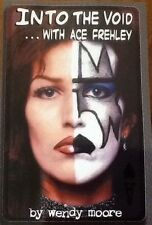 INTO THE VOID...w/ Ace Frehley (KISS) w/FREE t-shirt, sold/signed by Wendy Moore