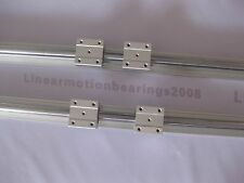 linear bearing slide unit 2 SBR16-600mm+ 4 SBR16UU bearing blocks