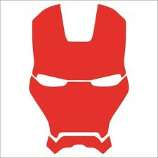 Iron Man Vinyl Decal / Sticker - Choose Color & Size - Avengers