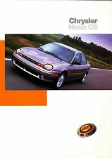 Chrysler Neon CS prospectus D 9/97 brochure 1997 auto voiture autoprospekt amérique usa