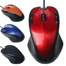 NEU 1800DPI Maus USB Kabelgebunden Optisch Maus Gaming Wired Mouse For PC Laptop