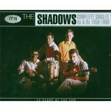 THE SHADOWS - COMPLETE SINGLES A'S&B'S 1959-1980 4 CD POP INTERNATIONAL NEU
