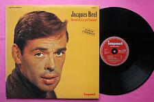 DOUBLE 2 LP 33T / JACQUES BREL / QUAND ON N'A QUE L'AMOUR / 6995 101 / EX