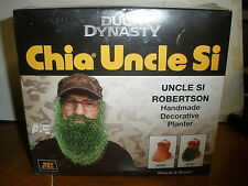 New A&E Duck Dynasty Chia Pet Uncle Si Robertson Beard Planter