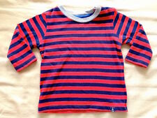 ♥ Marks & Spencer M&S Baby Red Stripes Long Sleeves Top (0-3 months) ♥