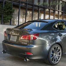 PAINTED For LEXUS IS250 IS350 IS F TYPE REAR TRUNK BOOT SPOILER WING 4DR 06-12